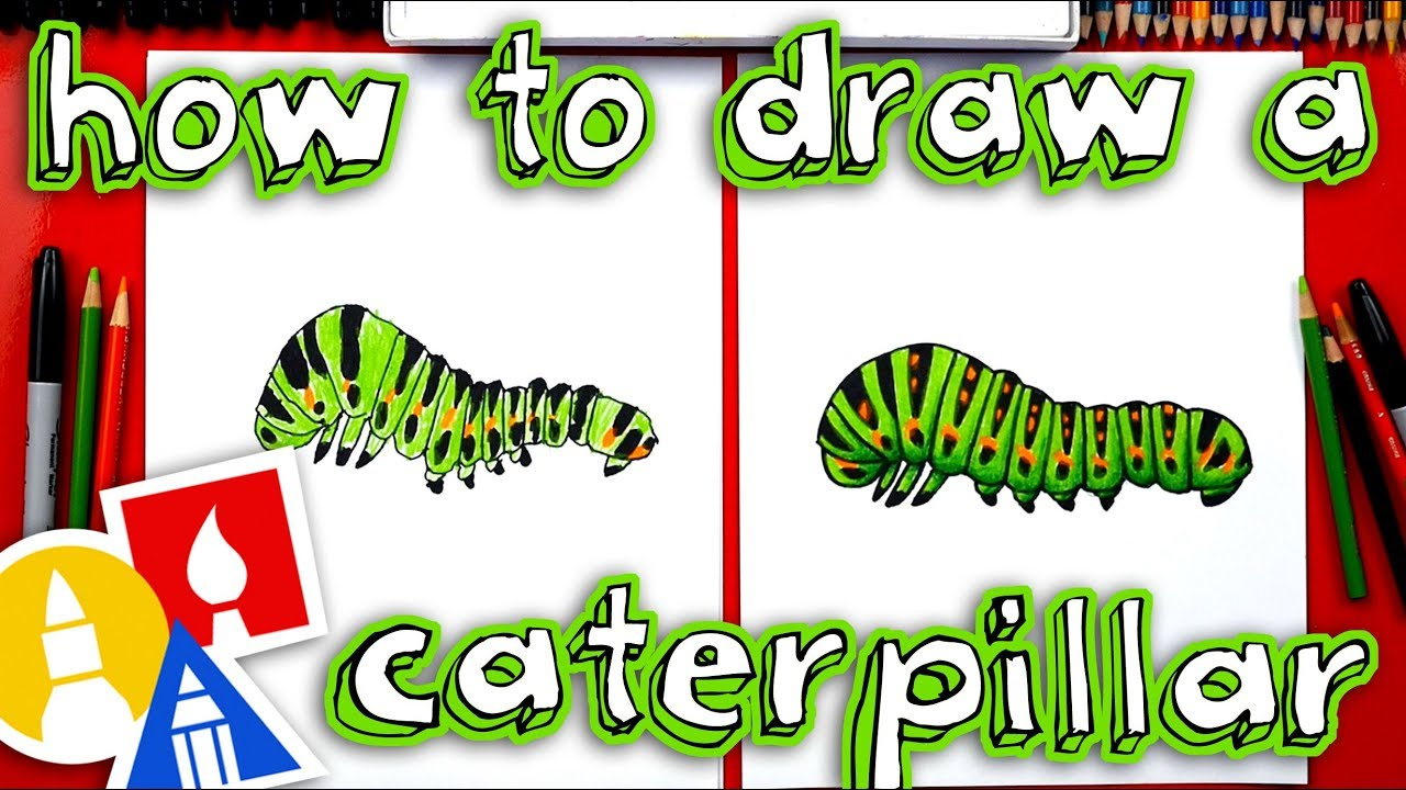 1280x720 How To Draw A Caterpillar