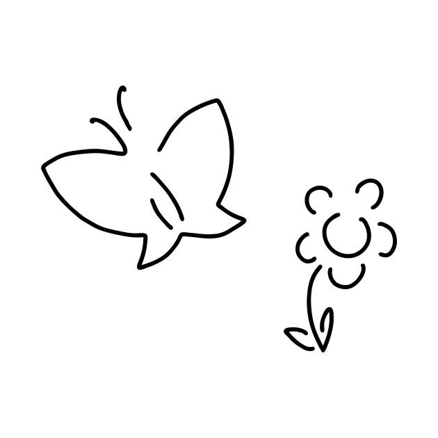 630x630 Butterfly Flower Caterpillar