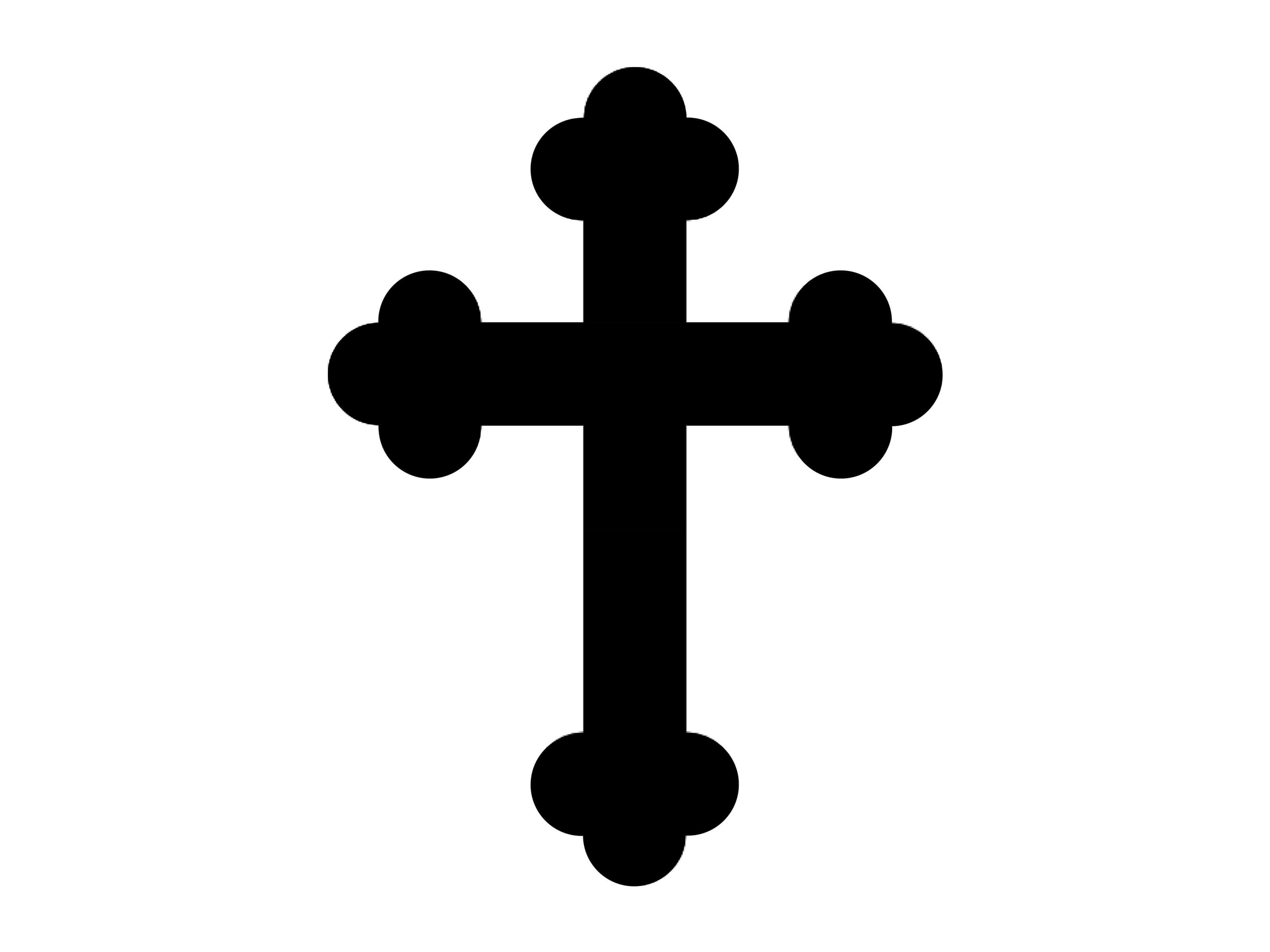 Catholic Cross Drawing