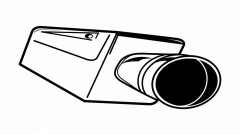 480x270 cctv camera surveillance security video symbol clip