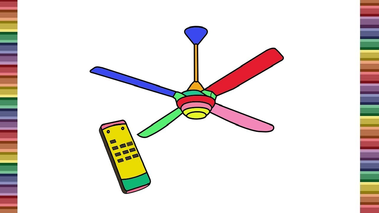 Ceiling Fan Drawing Free Download On Clipartmag