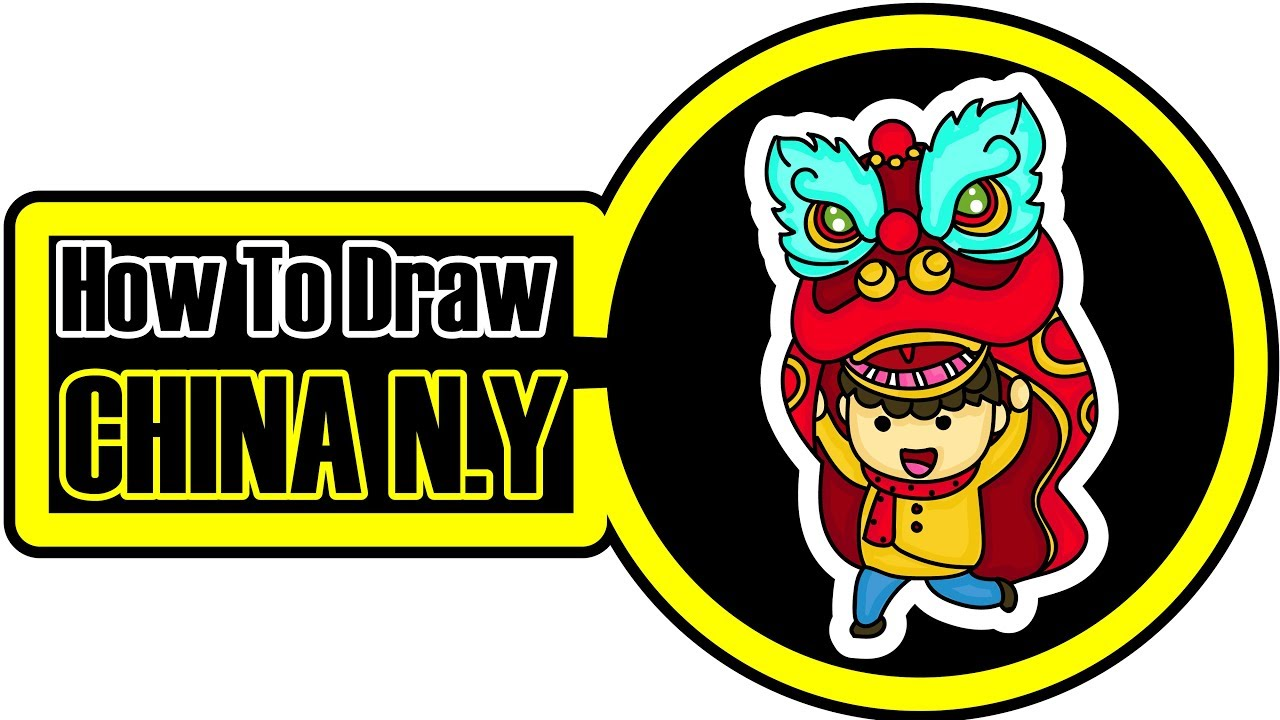1280x720 download how to draw chinese new year lion for beginner chinese