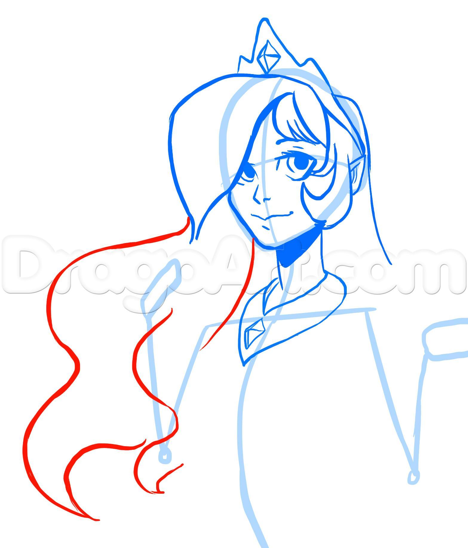 1567x1835 Draw Human Princess Celestia, My Little Pony, Step