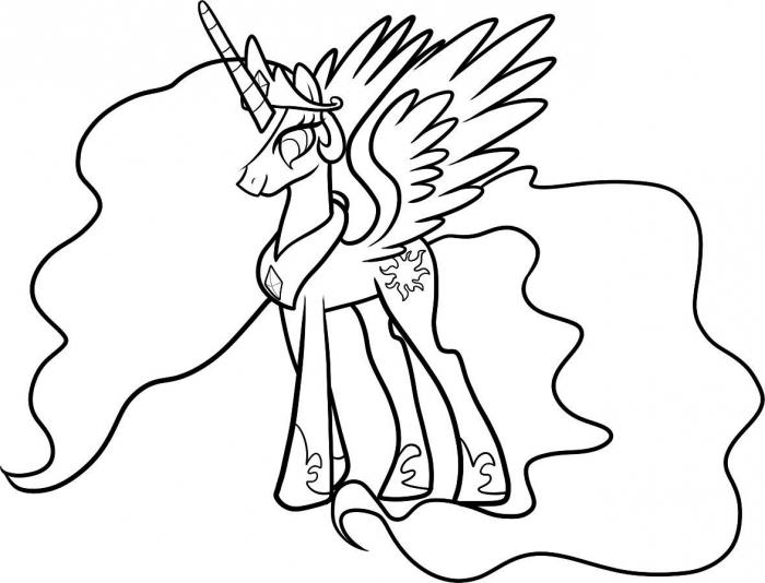 700x534 Drawing Lessons How To Draw Princess Celestia