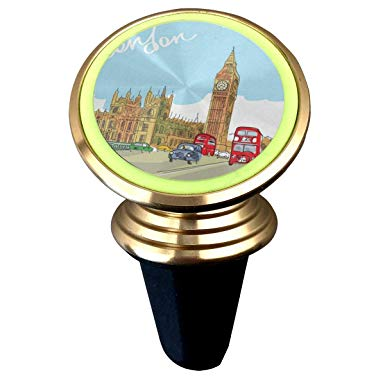 385x385 magnetic car holder rotation universal hand drawing london city