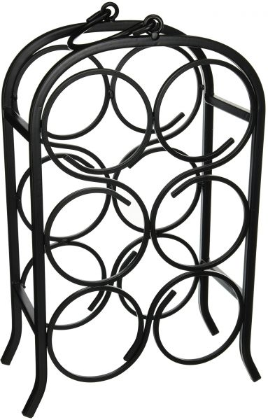 383x600 oenophilia wine arch wine rack, free standing wine holder rack