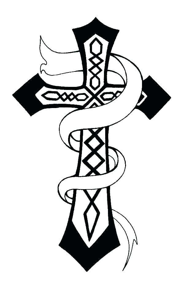 600x922 celtic cross coloring pages download large image celtic cross