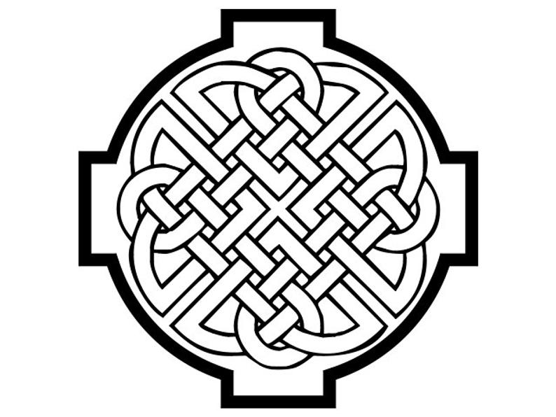 794x596 celtic knot celtic cross vector digital download etsy