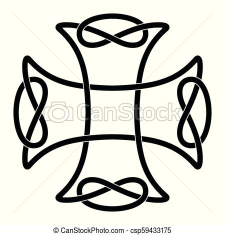 450x470 celtic national cross celtic cross with national ornament as