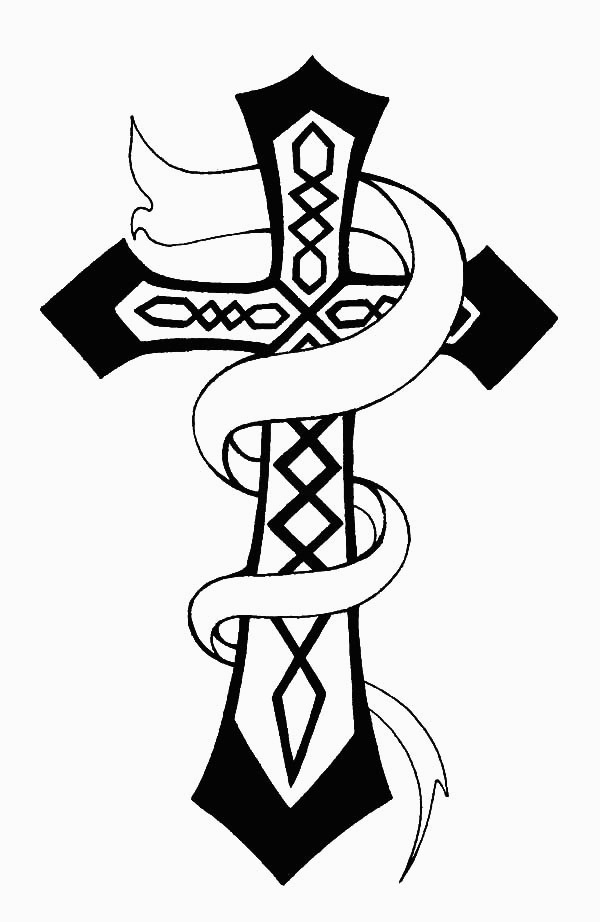 600x922 christian celtic cross coloring pages for cross coloring pages