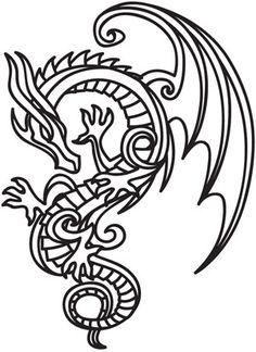 236x324 best celtic dragon tattoos images celtic art, celtic dragon