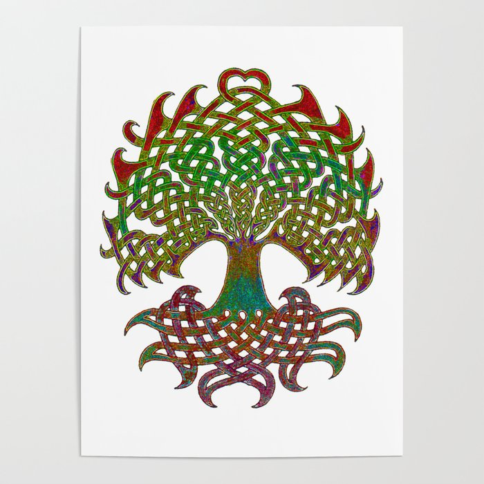 700x700 Celtic Knot Tree Of Life Poster