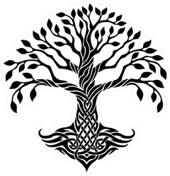 240x249 Celtic Tree Of Life Sticker