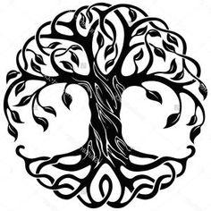 236x236 Life Clipart Celtic Tree