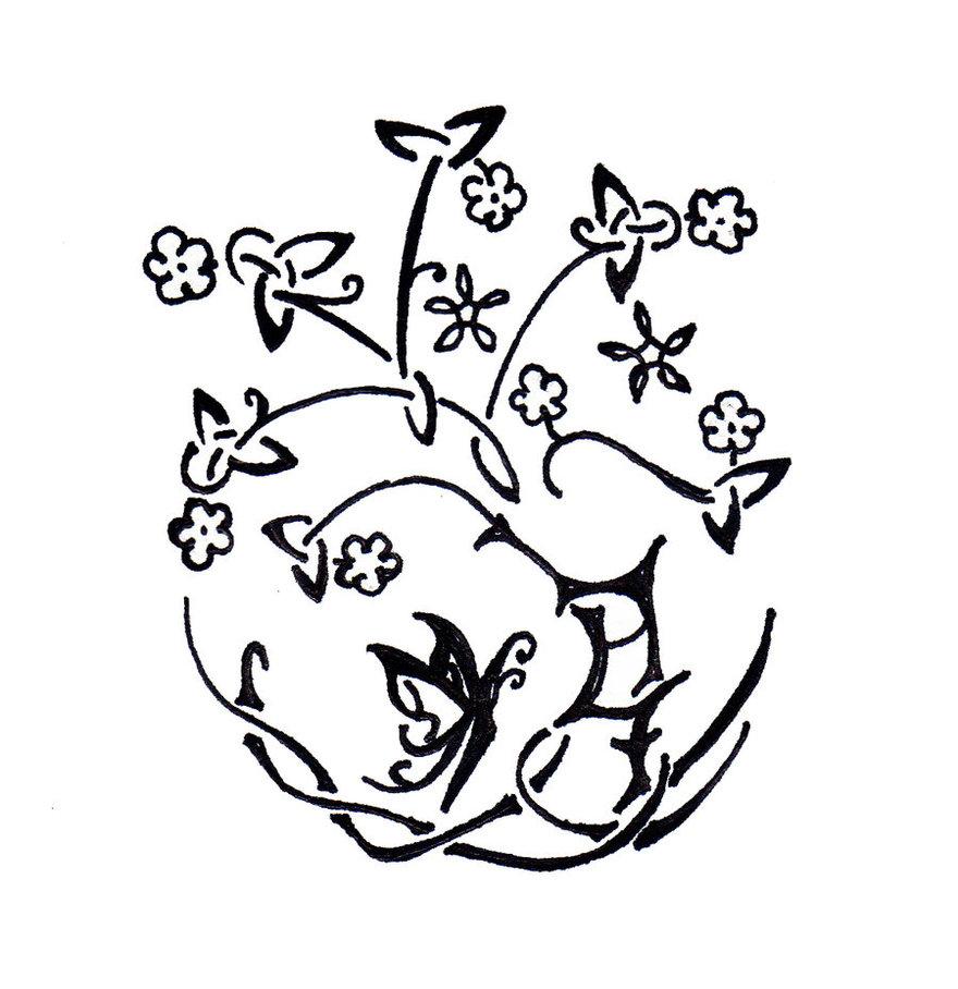880x908 Tree Of Life Tattoo Drawing