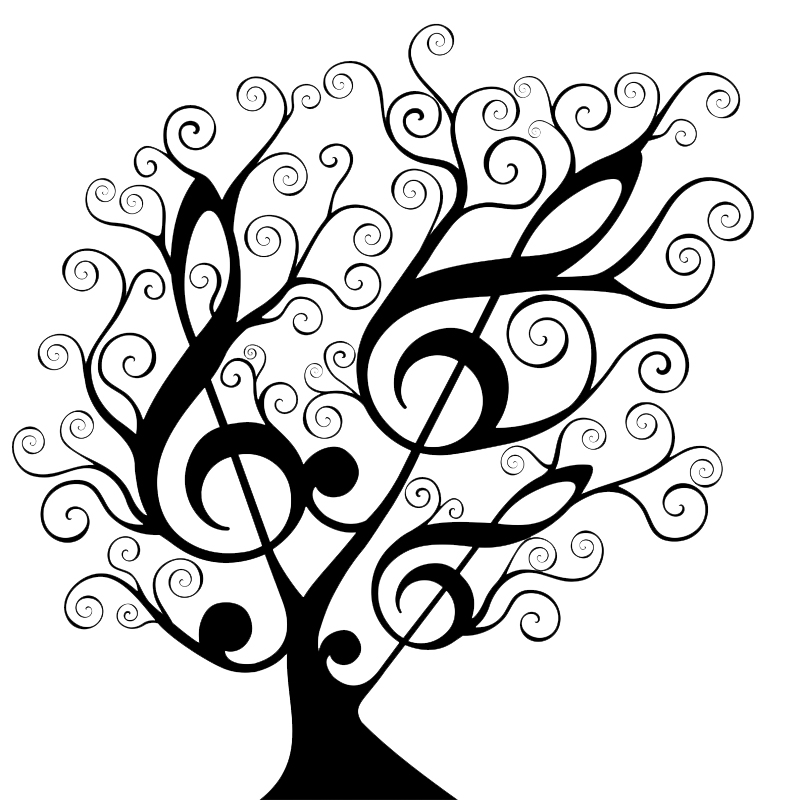 800x800 Black And White Tree Of Life Clipart Collection