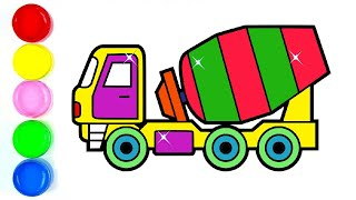 320x180 All Clip Of Drawing Truck Cement