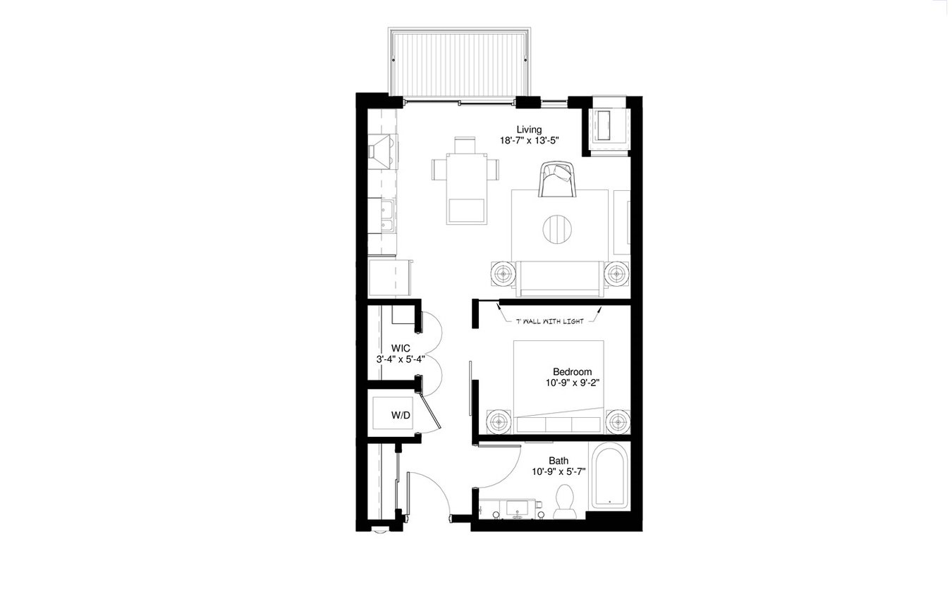1350x860 central park west apartments st louis park, mn