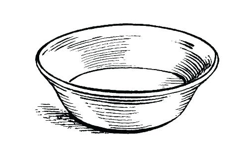 508x310 drawing of a bowl line drawing cartoon bowl of cereal bowl of rice