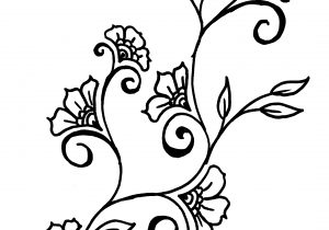 300x210 flower chain drawing sketch design of flowers chain cool flower