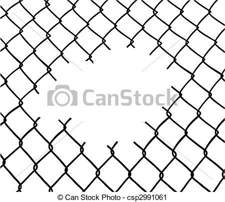 Chain Link Drawing