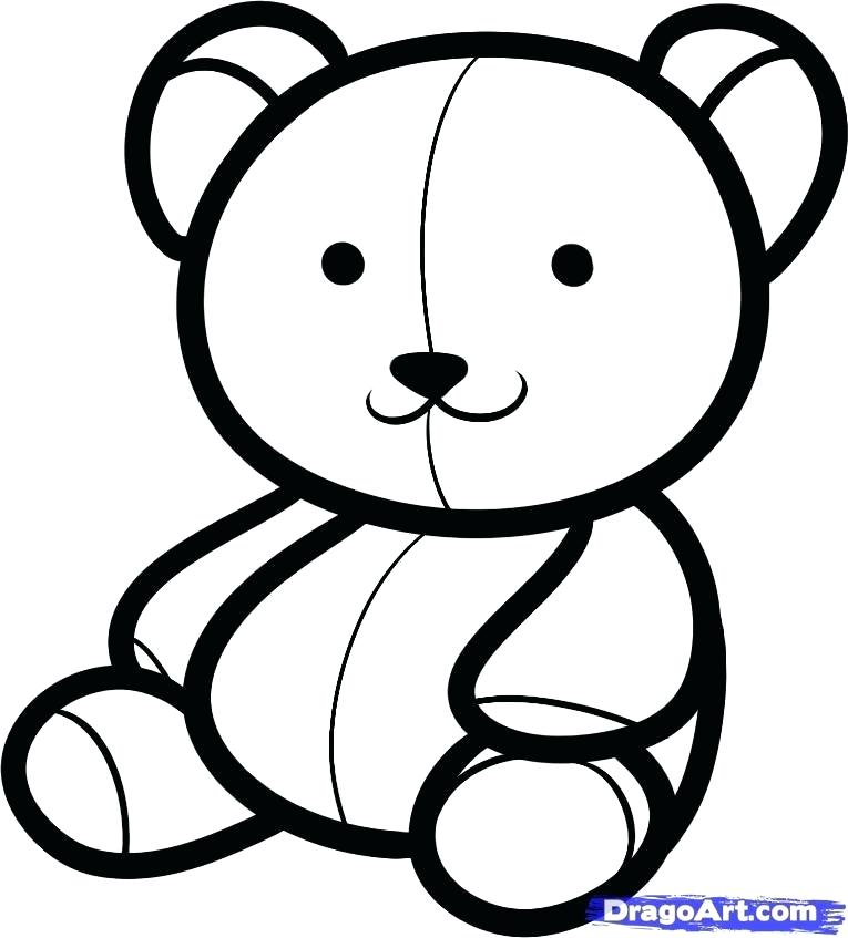765x847 teddy bears drawing teddy bear draw teddy bear drawing outline