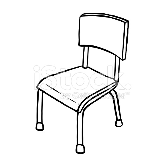 556x556 Chair Drawing Cartoon For Free Download