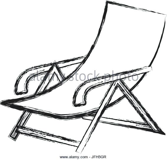 566x540 beach chair drawing beach chair back of beach chair drawing