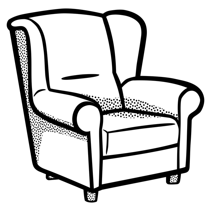680x680 Collection Of Free Chair Drawing Clipart Download On Ui Ex