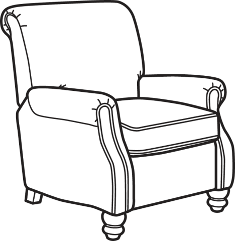 468x480 Collection Of Free Chair Drawing Shading Download On Ui Ex