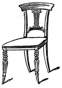 200x285 Fancy Chair Drawing