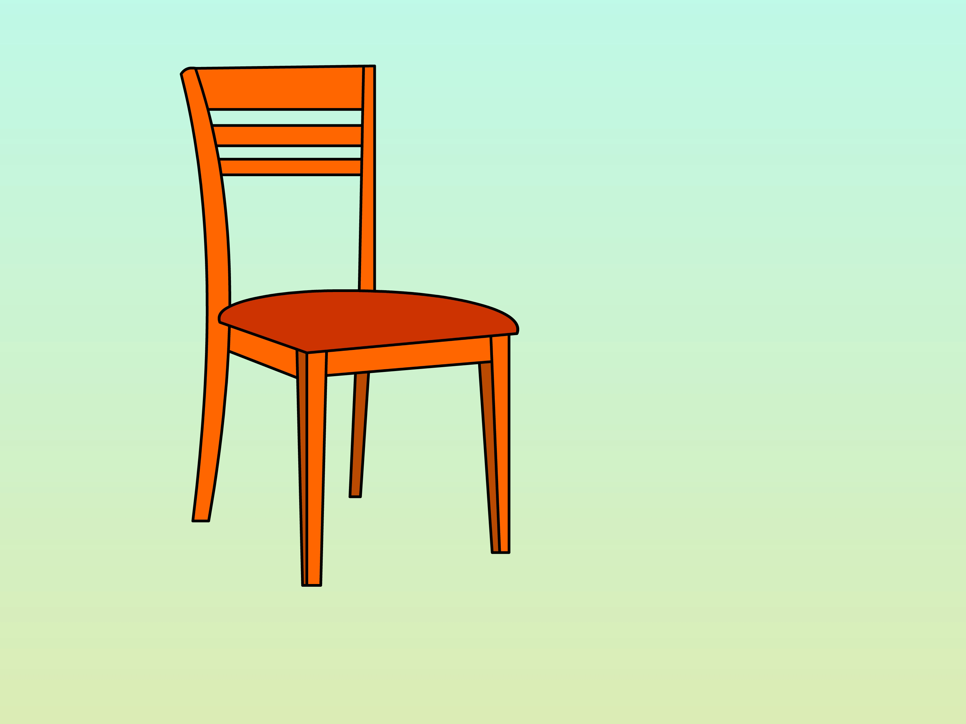 3200x2400 How To Draw A Chair Steps