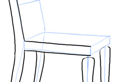 440x320 How To Draw A Chair, How To Draw A Chair In The Correct