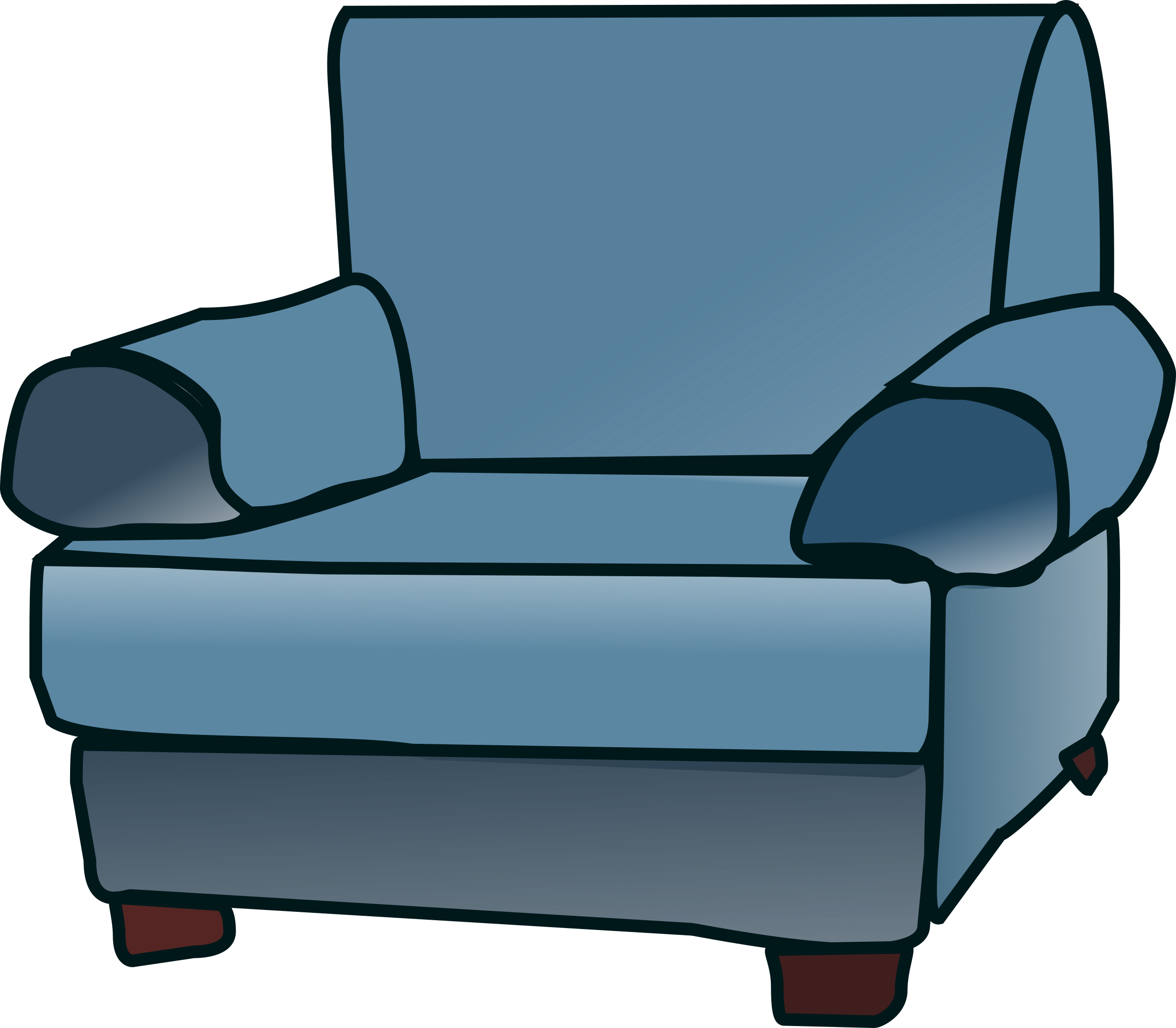 2400x2098 Armchair Drawing Transparent Png Clipart Free Download