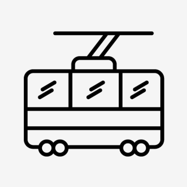 640x640 chair lift line black icon, chair lift, lift, chair png and vector