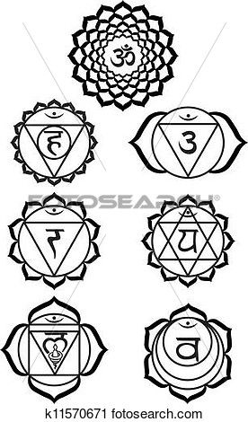 Chakra Drawing | Free download best Chakra Drawing on