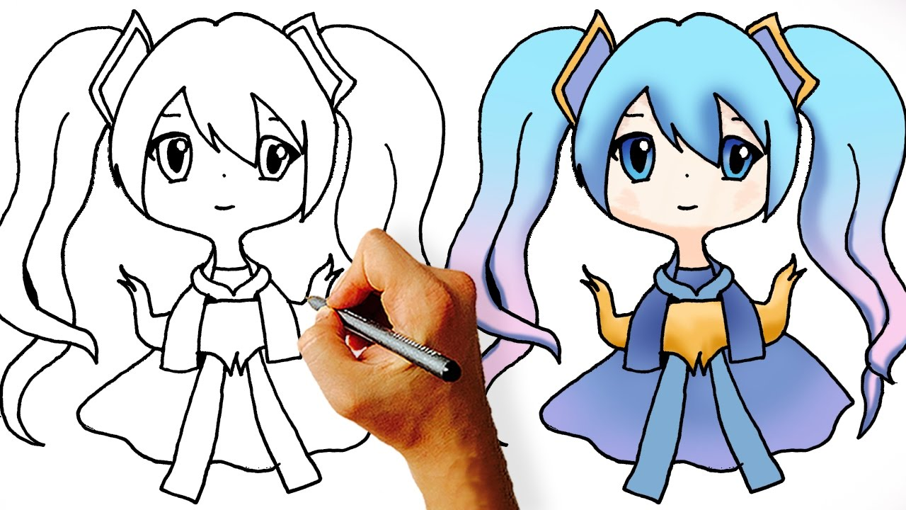 1280x720 How To Draw Sona Chibi