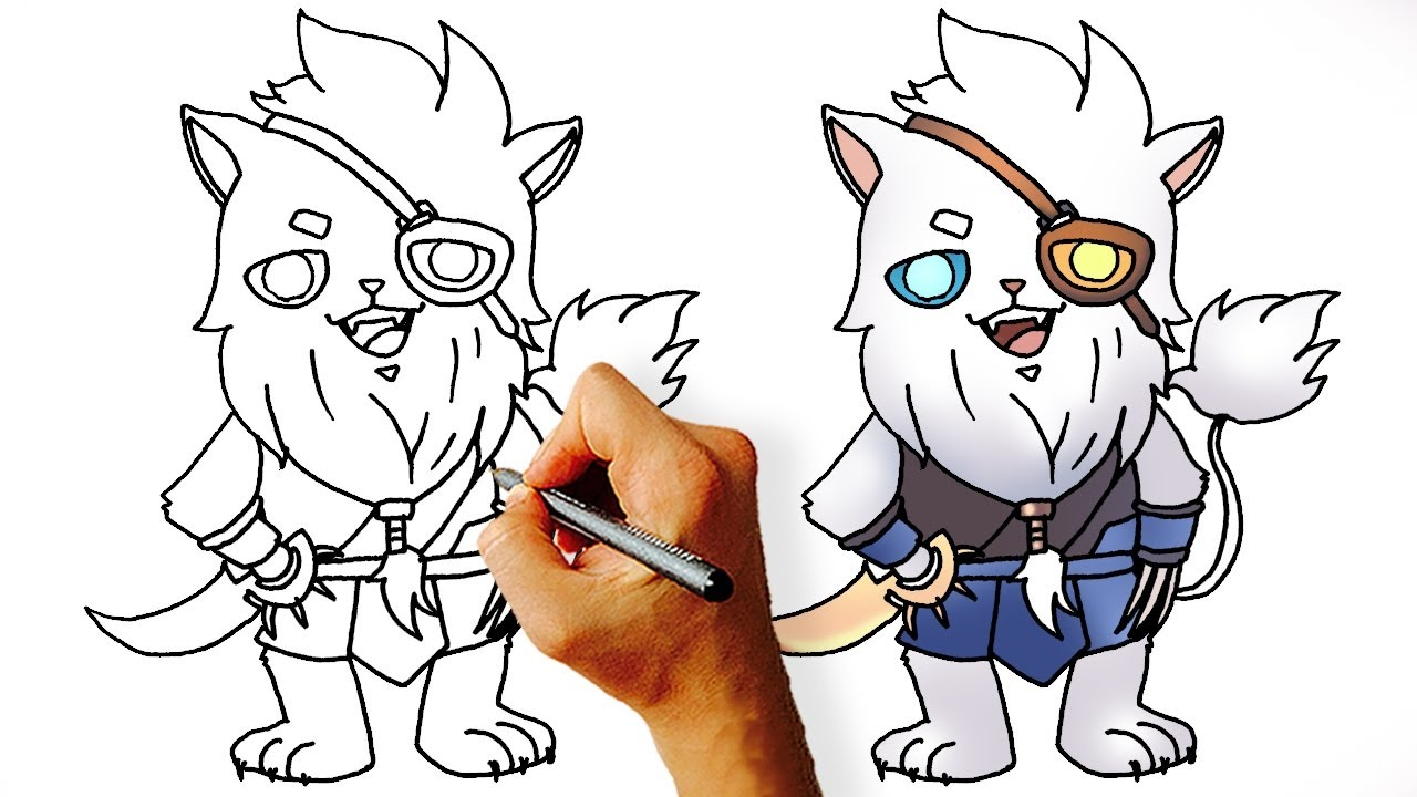 1280x720 Pk How To Draw Rengar Chibi