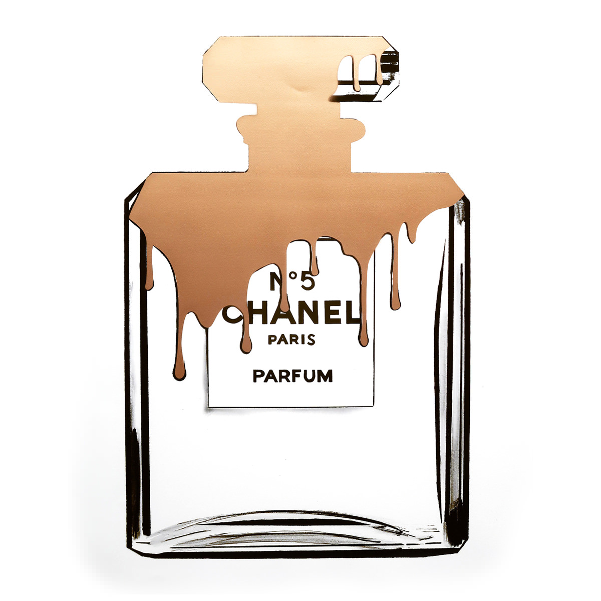 1200x1200 limited edition gold melting chanel