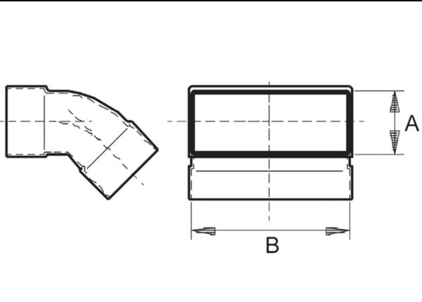 600x430 Channel Elbows, Vertical Maico