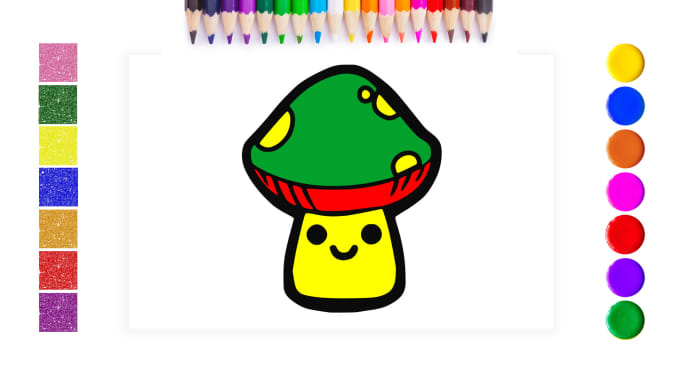 680x383 Make Coloring Pages Drawing Video For Youtube Channel