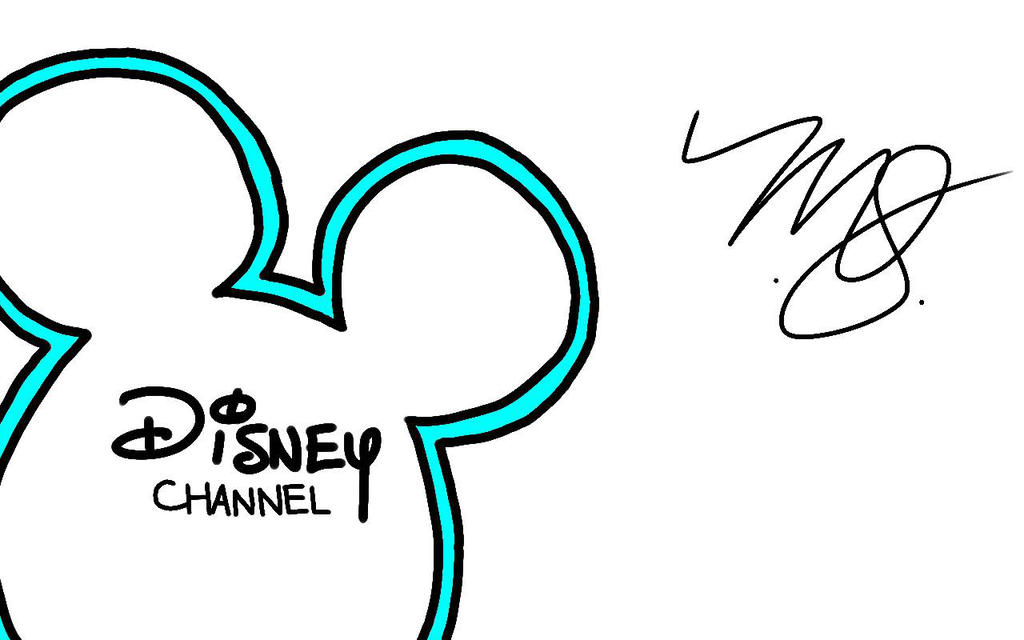 1024x640 My Drawing Of The Disney Channel Logo