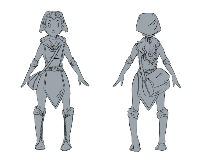 Drawing Character Concept Art