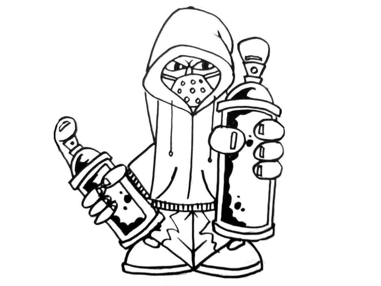 1264x948 graffiti gangster cartoon character drawings gangsta cartoon pic