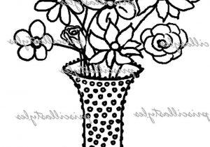 300x210 Pencil Sketch Flower Pot