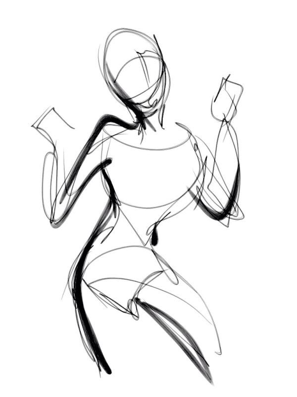 600x800 Drawing Ideas In Gesture Drawing