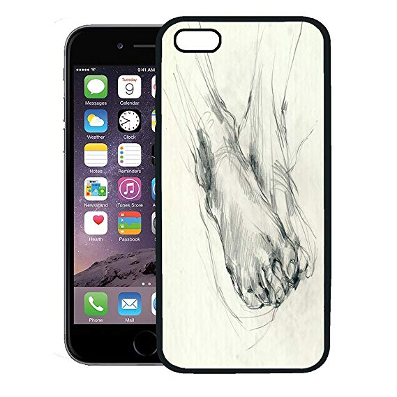 569x569 semtomn phone case for iphone plus case,drawing foot