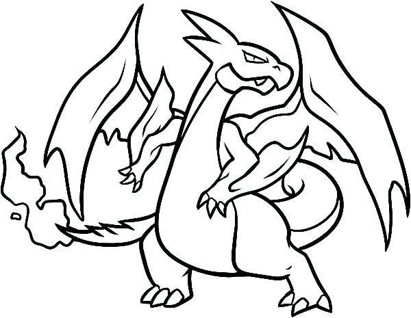 Charizard X Drawing