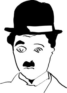 Charlie Chaplin Drawing