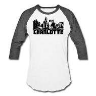 190x190 Charlotte Skyline Men's Hoodie Spreadshirt